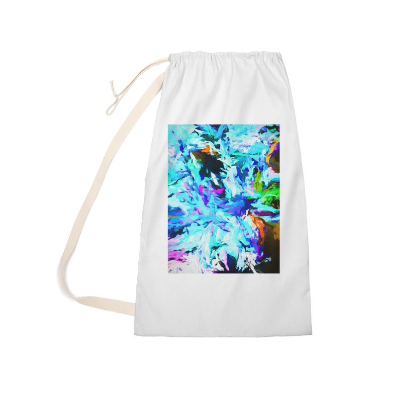 Danger and Beauty of the Water Avalanche Accessories Laundry Bag Bag by jackievano's Artist Shop