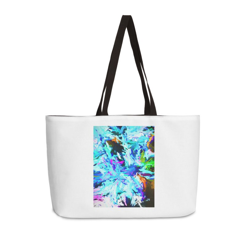Danger and Beauty of the Water Avalanche Accessories Weekender Bag Bag by jackievano's Artist Shop