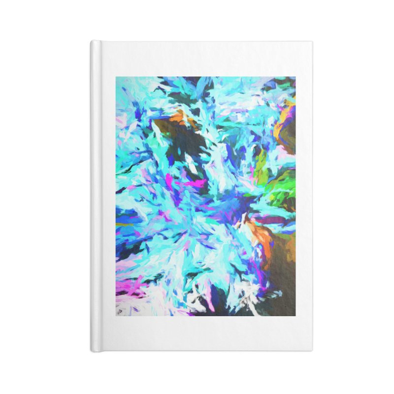Danger and Beauty of the Water Avalanche Accessories Blank Journal Notebook by jackievano's Artist Shop