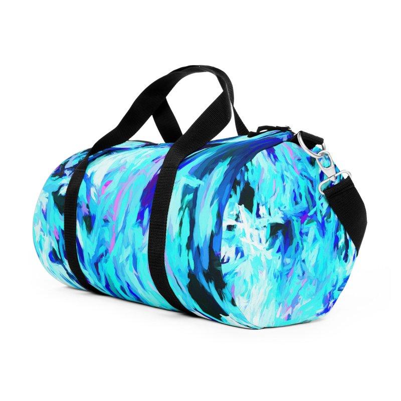 Gargoyle Tsunami Pour Accessories Duffel Bag Bag by jackievano's Artist Shop