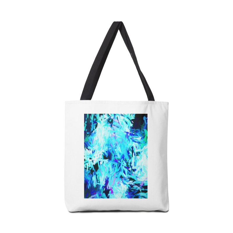 Gargoyle Tsunami Pour Accessories Tote Bag Bag by jackievano's Artist Shop