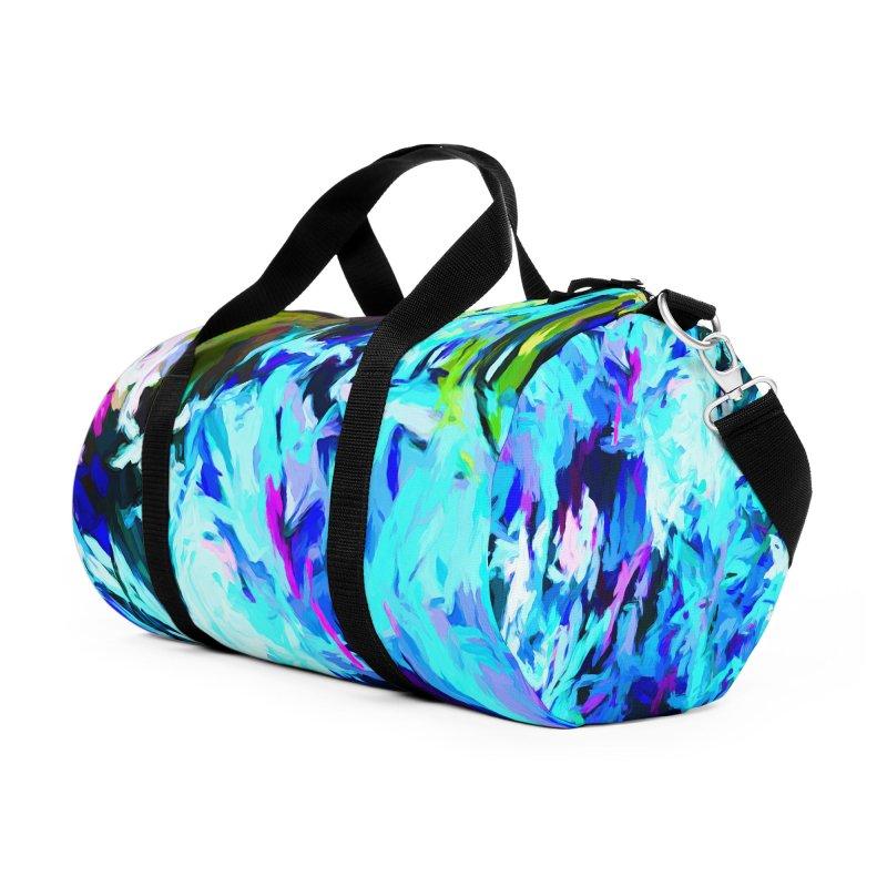 Gargoyle Tsunami Surge Accessories Duffel Bag Bag by jackievano's Artist Shop