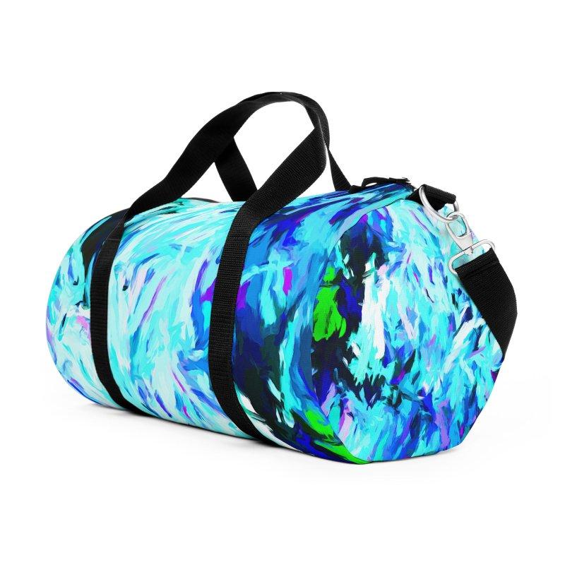 Gargoyle Tsunami Rise Accessories Duffel Bag Bag by jackievano's Artist Shop