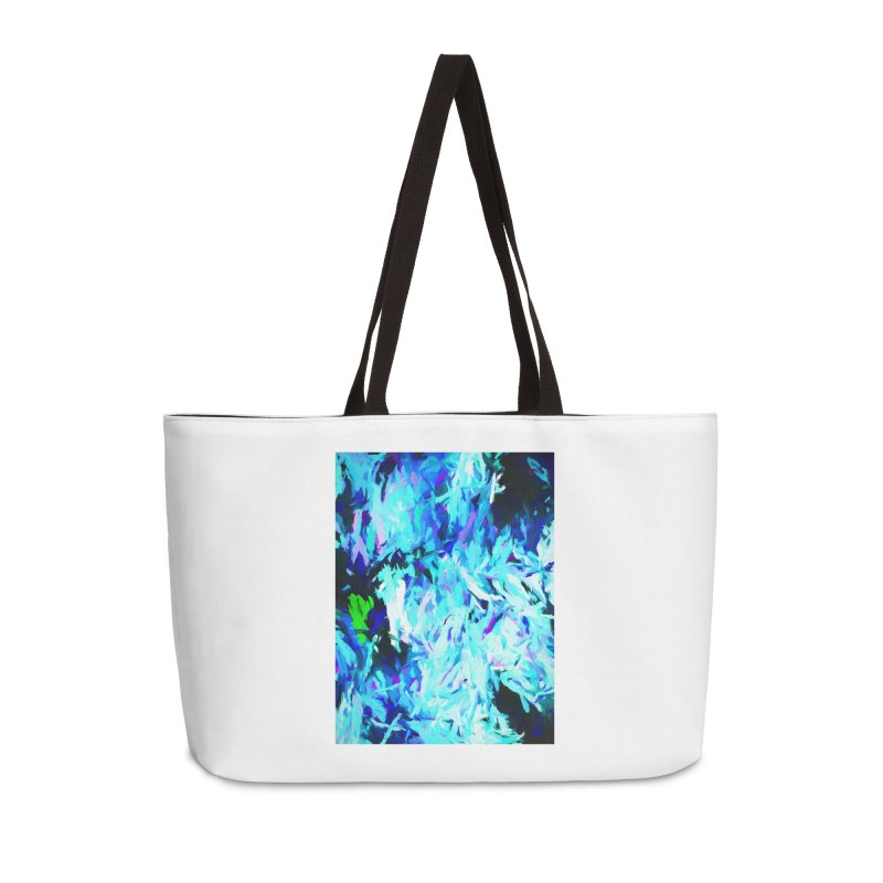 Gargoyle Tsunami Rise Accessories Weekender Bag Bag by jackievano's Artist Shop