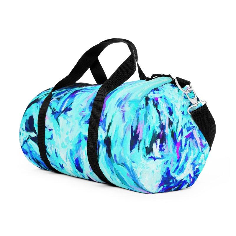 Gargoyle Tsunami Charge Accessories Duffel Bag Bag by jackievano's Artist Shop