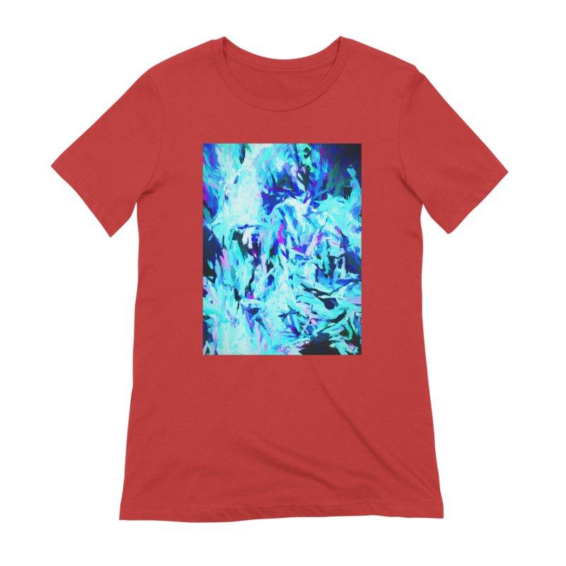 Gargoyle Tsunami Charge Women's Extra Soft T-Shirt by jackievano's Artist Shop