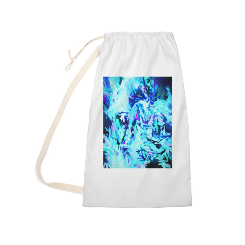 Gargoyle Tsunami Charge Accessories Laundry Bag Bag by jackievano's Artist Shop