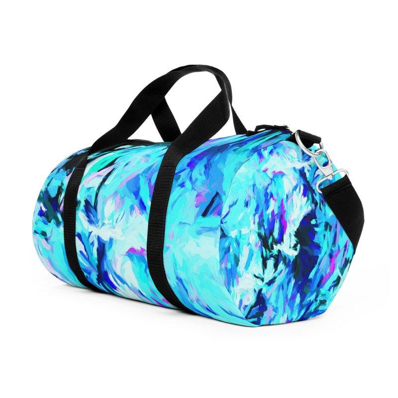 Gargoyle Tsunami Storm Accessories Duffel Bag Bag by jackievano's Artist Shop