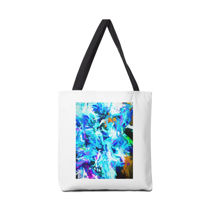 Gargoyle Tsunami Roar Accessories Tote Bag Bag by jackievano's Artist Shop