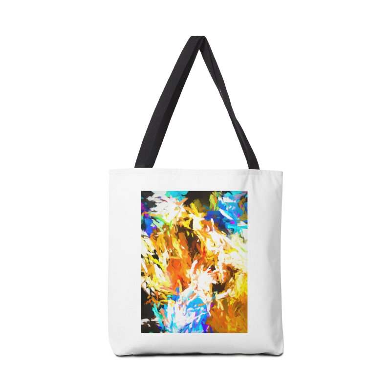 Tsunami from the Lion's Mouth Accessories Tote Bag Bag by jackievano's Artist Shop