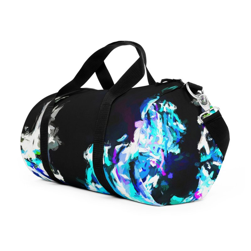 Earth's Heart Beats and the Ocean Opens Accessories Duffel Bag Bag by jackievano's Artist Shop
