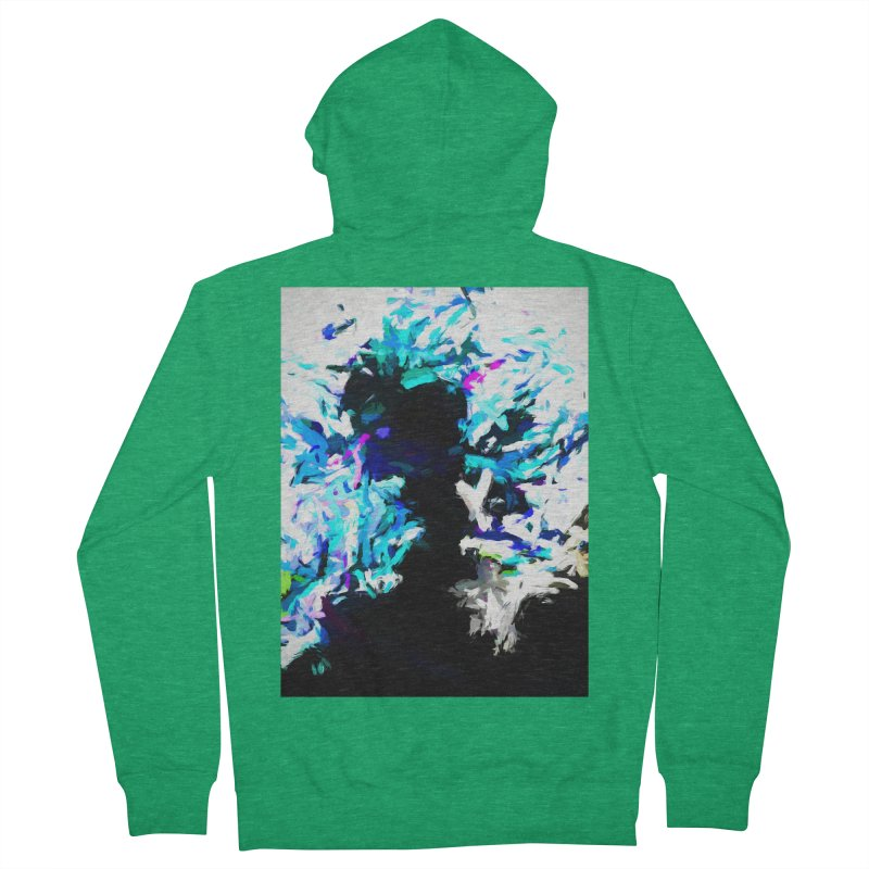 Earth's Heart Beats and the Ocean Opens Women's French Terry Zip-Up Hoody by jackievano's Artist Shop