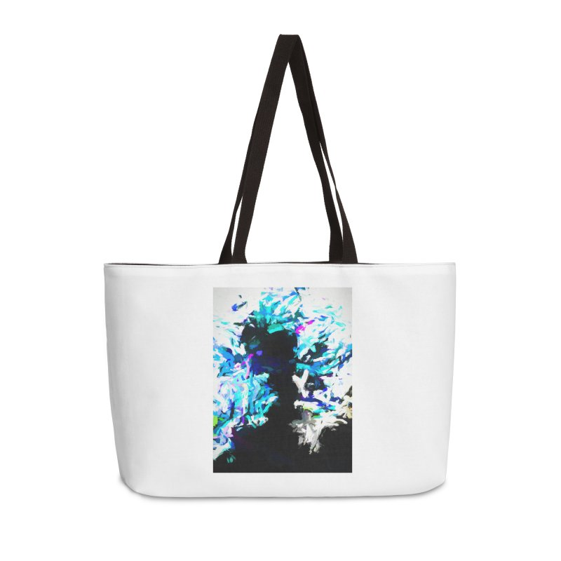 Earth's Heart Beats and the Ocean Opens Accessories Weekender Bag Bag by jackievano's Artist Shop