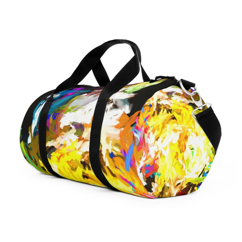 Happy Clown in the Heart of the Hurricane Accessories Duffel Bag Bag by jackievano's Artist Shop