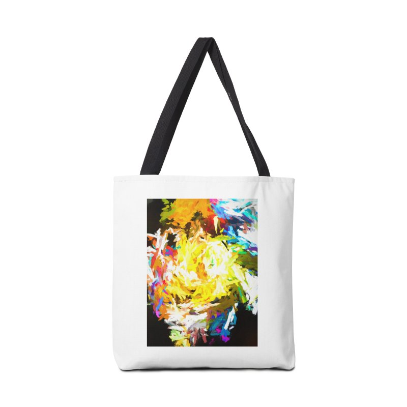 Happy Clown in the Heart of the Hurricane Accessories Tote Bag Bag by jackievano's Artist Shop