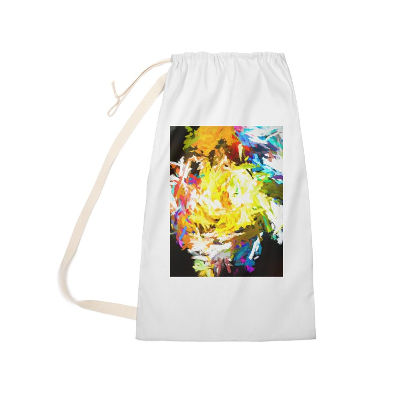 Happy Clown in the Heart of the Hurricane Accessories Laundry Bag Bag by jackievano's Artist Shop