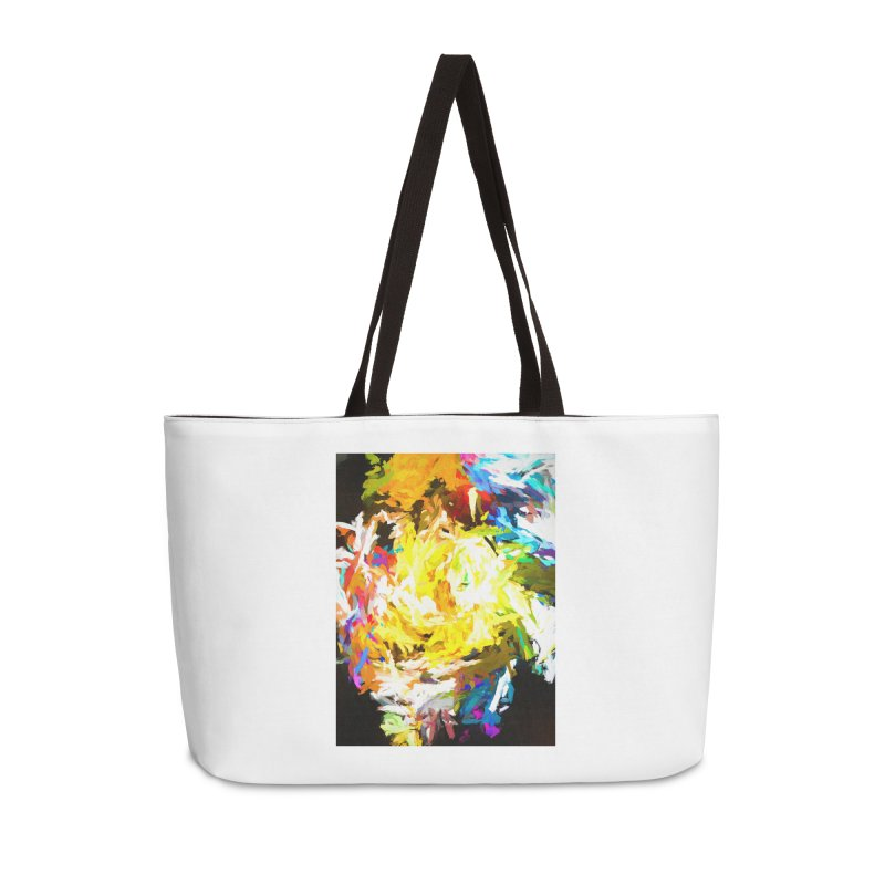 Happy Clown in the Heart of the Hurricane Accessories Weekender Bag Bag by jackievano's Artist Shop
