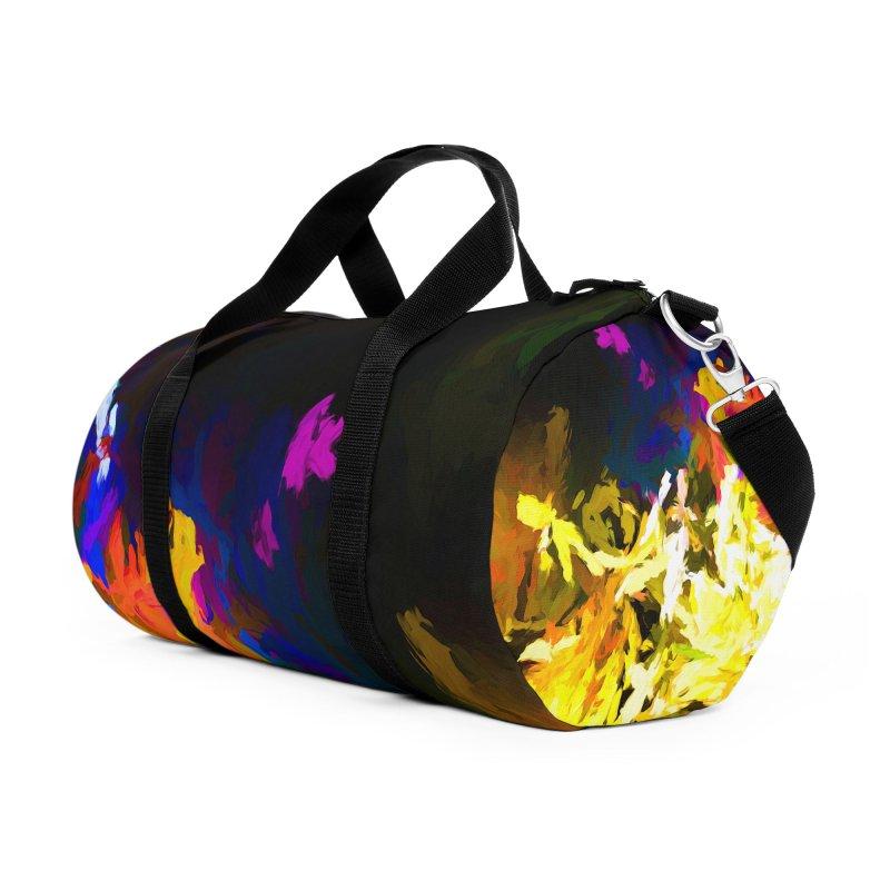 Raging Gargoyle of the Fire Accessories Duffel Bag Bag by jackievano's Artist Shop