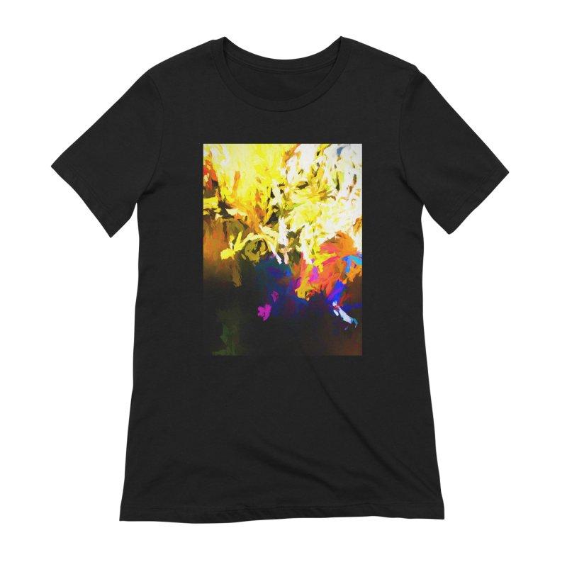 Raging Gargoyle of the Fire Women's Extra Soft T-Shirt by jackievano's Artist Shop