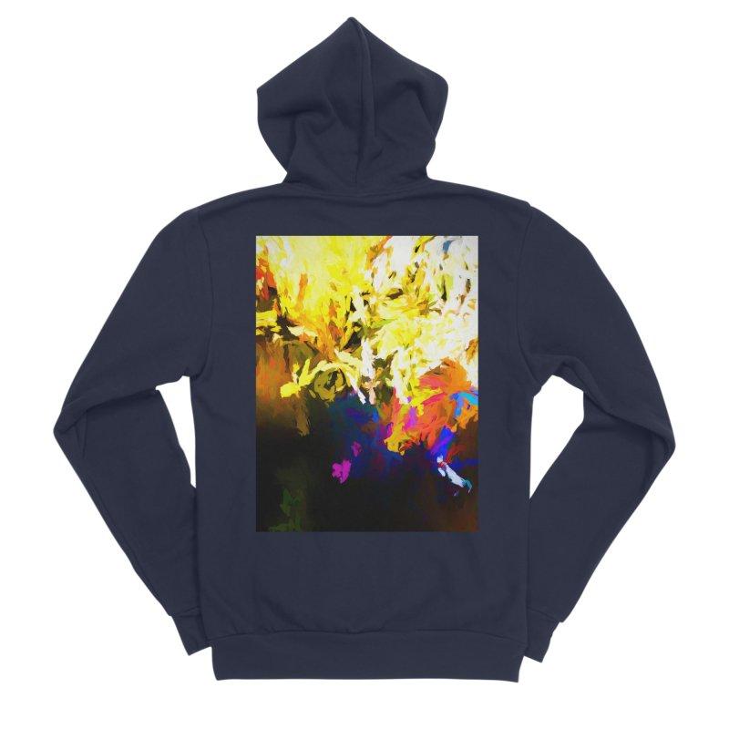 Raging Gargoyle of the Fire Men's Sponge Fleece Zip-Up Hoody by jackievano's Artist Shop