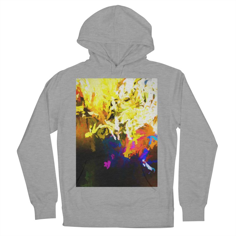 Raging Gargoyle of the Fire Women's French Terry Pullover Hoody by jackievano's Artist Shop