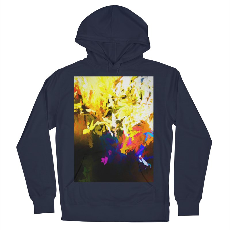 Raging Gargoyle of the Fire Men's French Terry Pullover Hoody by jackievano's Artist Shop