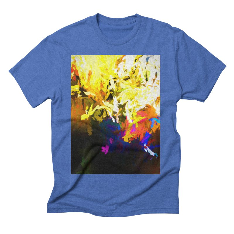 Raging Gargoyle of the Fire Men's Triblend T-Shirt by jackievano's Artist Shop
