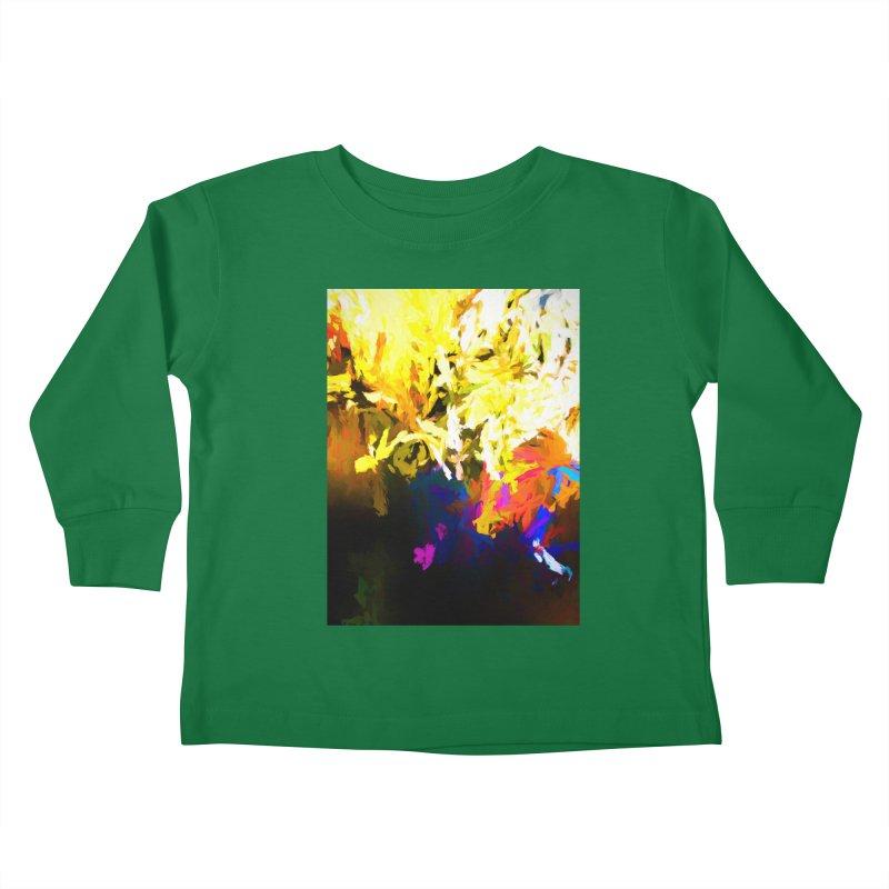 Raging Gargoyle of the Fire Kids Toddler Longsleeve T-Shirt by jackievano's Artist Shop