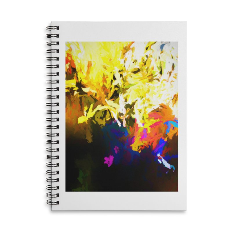 Raging Gargoyle of the Fire Accessories Lined Spiral Notebook by jackievano's Artist Shop