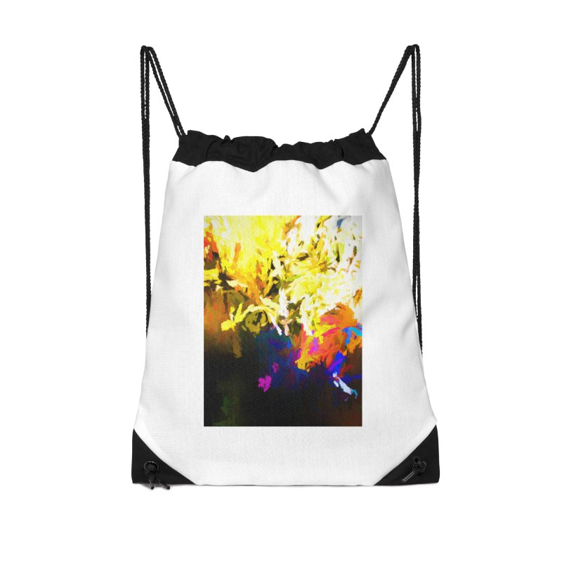 Raging Gargoyle of the Fire Accessories Drawstring Bag Bag by jackievano's Artist Shop