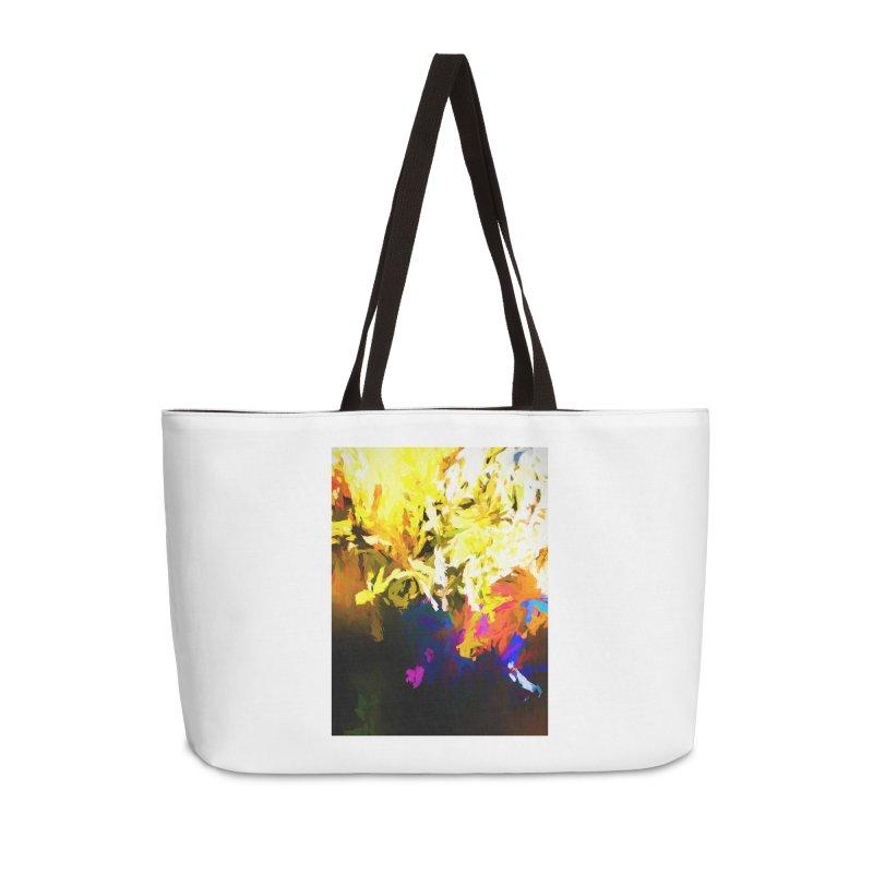 Raging Gargoyle of the Fire Accessories Weekender Bag Bag by jackievano's Artist Shop