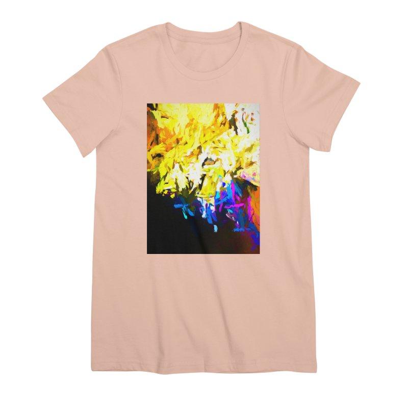 Smug Skull Watching Women's Premium T-Shirt by jackievano's Artist Shop