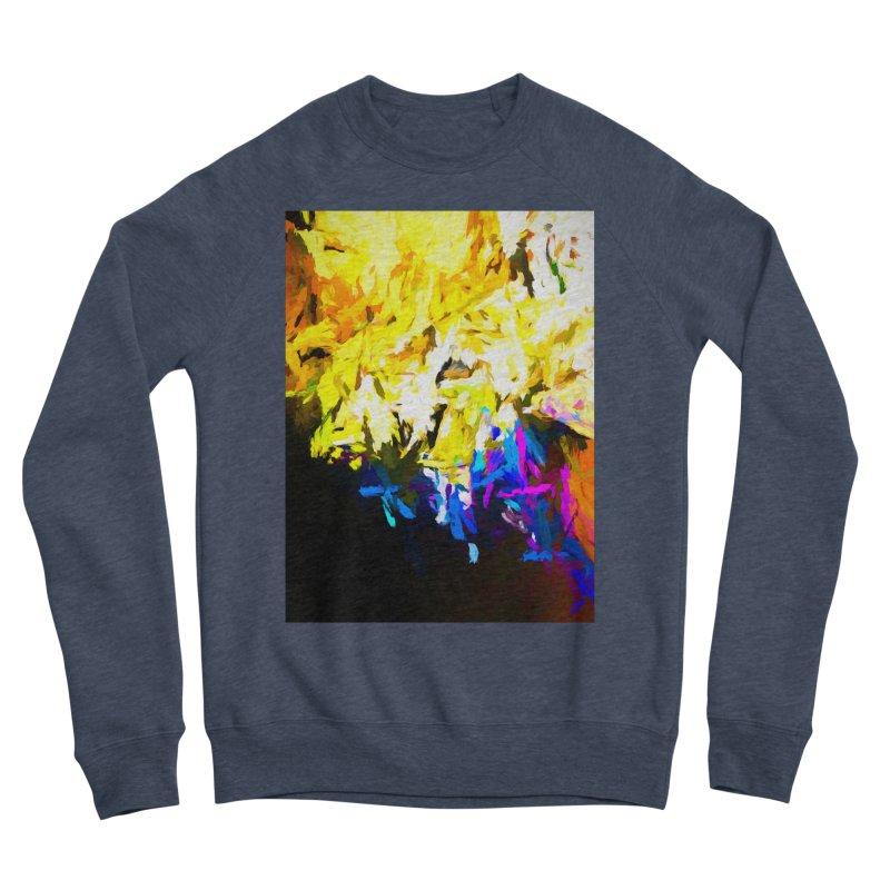 Smug Skull Watching Women's Sponge Fleece Sweatshirt by jackievano's Artist Shop