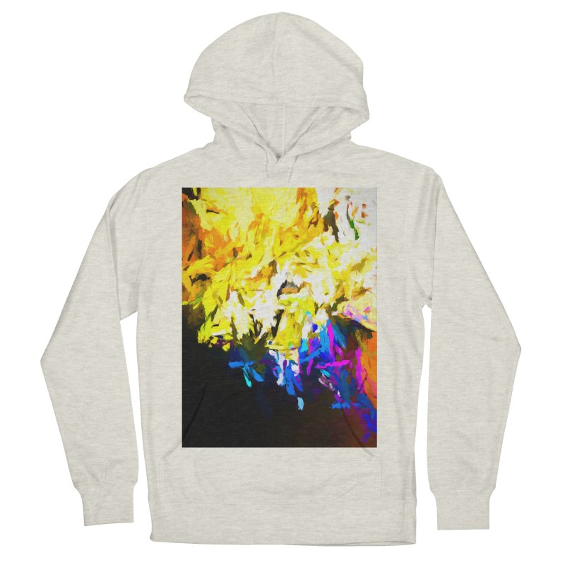 Smug Skull Watching Men's French Terry Pullover Hoody by jackievano's Artist Shop