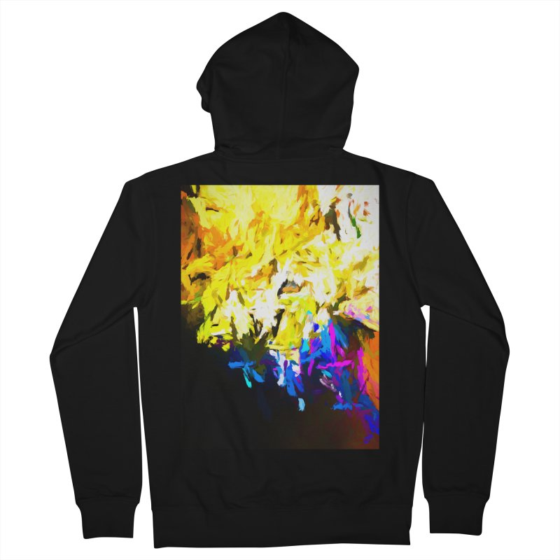 Smug Skull Watching Women's French Terry Zip-Up Hoody by jackievano's Artist Shop