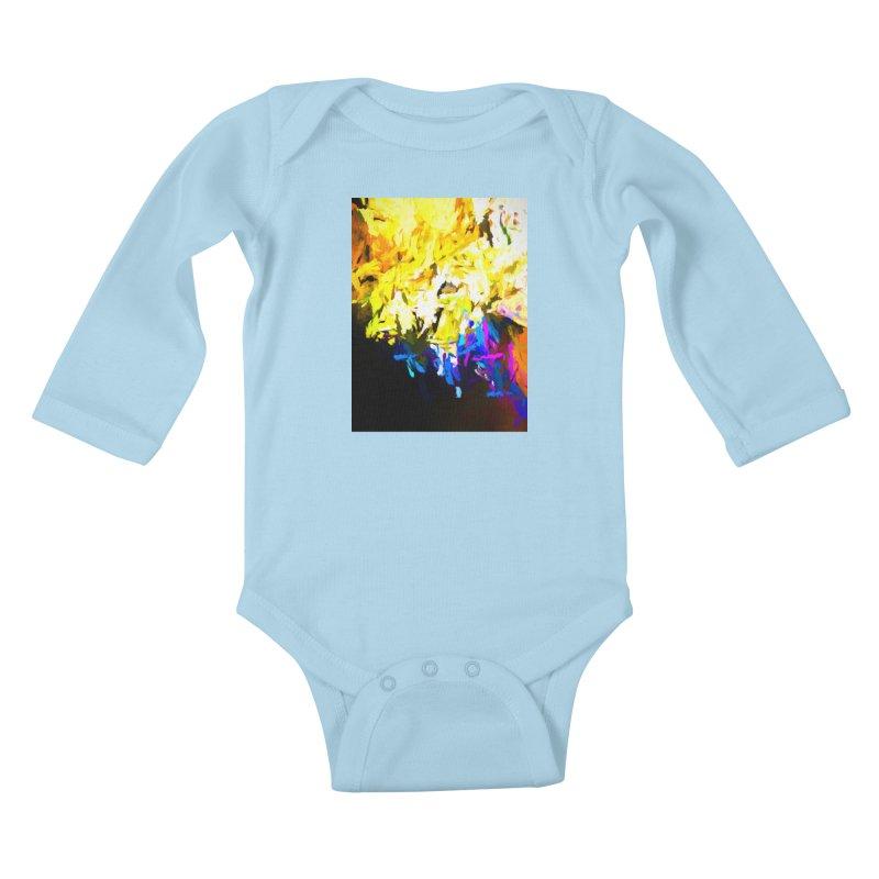 Smug Skull Watching Kids Baby Longsleeve Bodysuit by jackievano's Artist Shop