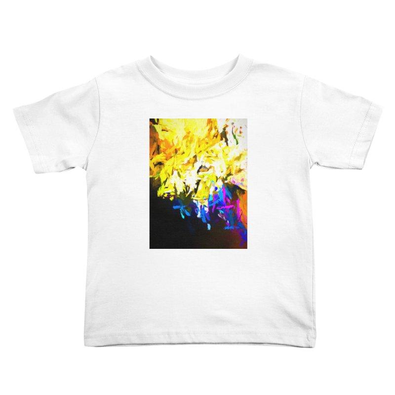 Smug Skull Watching Kids Toddler T-Shirt by jackievano's Artist Shop