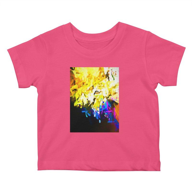 Smug Skull Watching Kids Baby T-Shirt by jackievano's Artist Shop