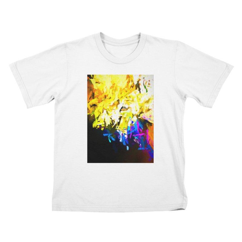 Smug Skull Watching Kids T-Shirt by jackievano's Artist Shop