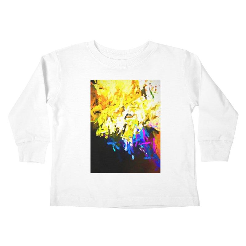 Smug Skull Watching Kids Toddler Longsleeve T-Shirt by jackievano's Artist Shop