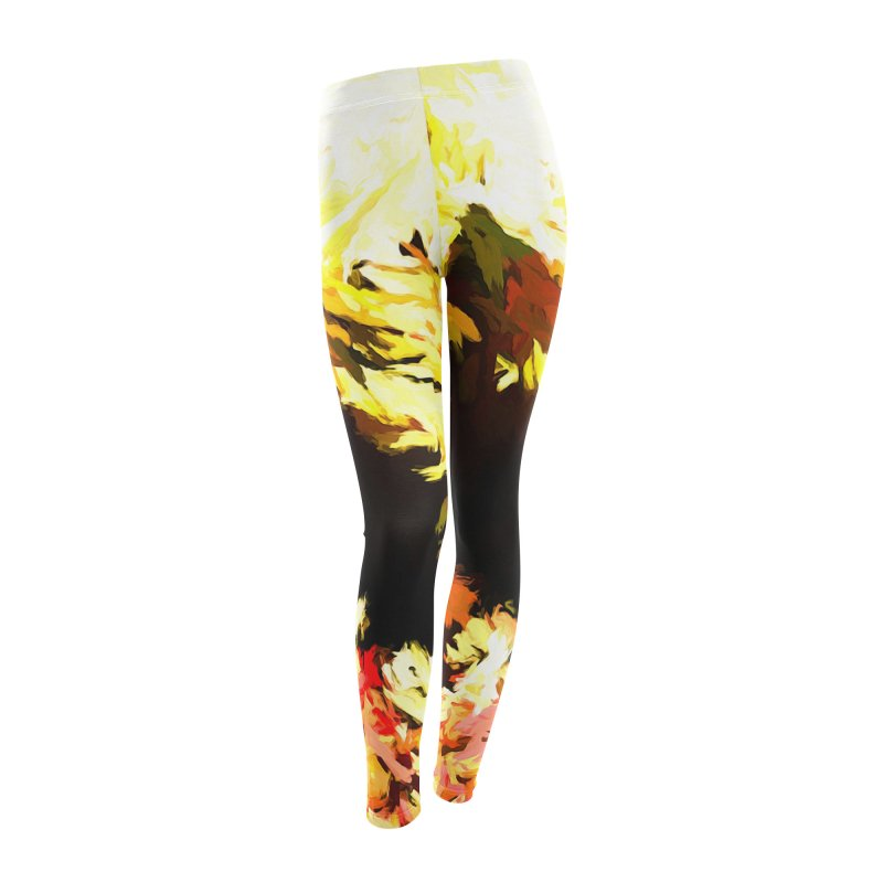Weeping Woman by the Waterway Women's Leggings Bottoms by jackievano's Artist Shop