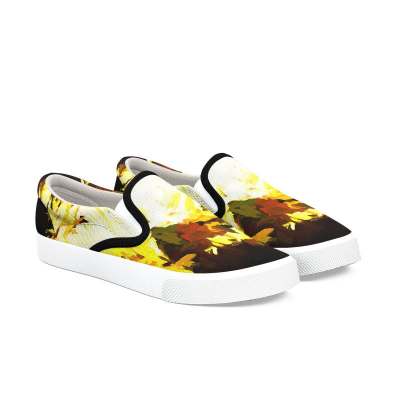 Weeping Woman by the Waterway Women's Slip-On Shoes by jackievano's Artist Shop