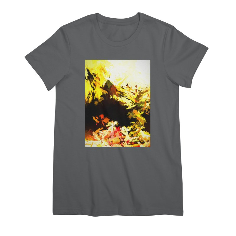 Weeping Woman by the Waterway Women's Premium T-Shirt by jackievano's Artist Shop