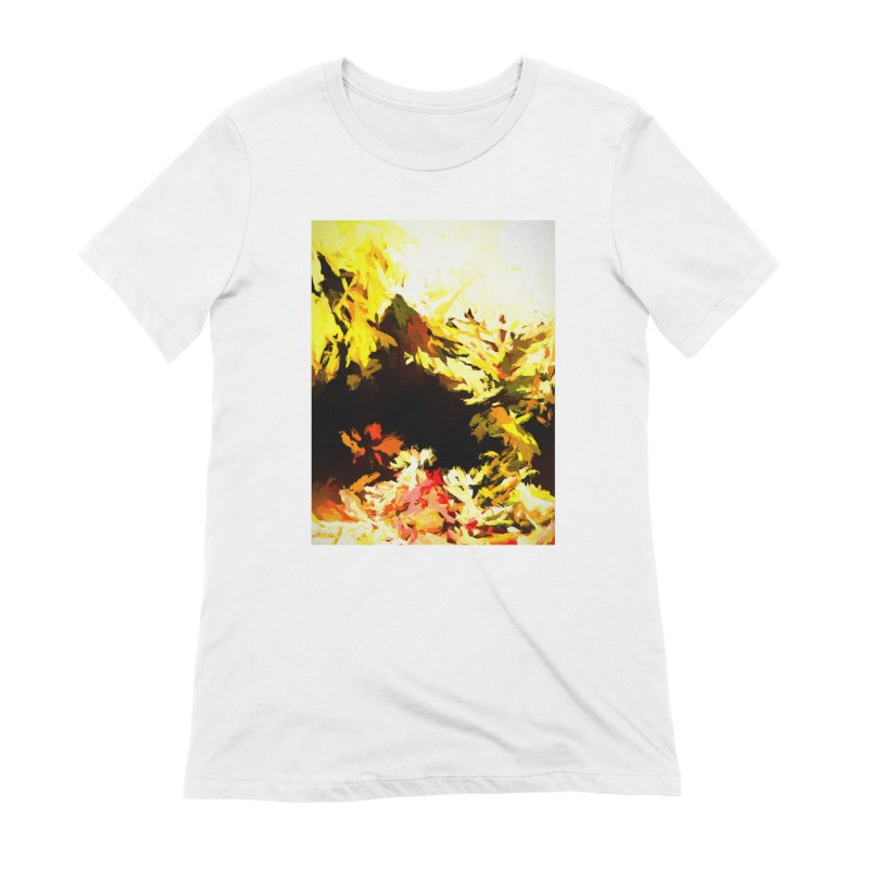 Weeping Woman by the Waterway Women's Extra Soft T-Shirt by jackievano's Artist Shop