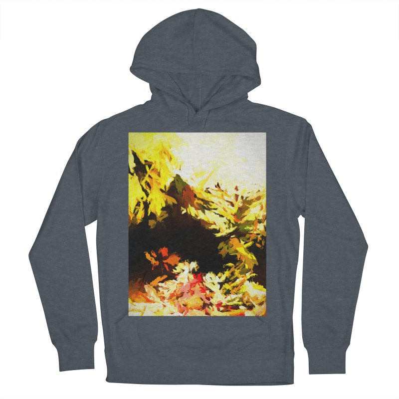 Weeping Woman by the Waterway Women's French Terry Pullover Hoody by jackievano's Artist Shop