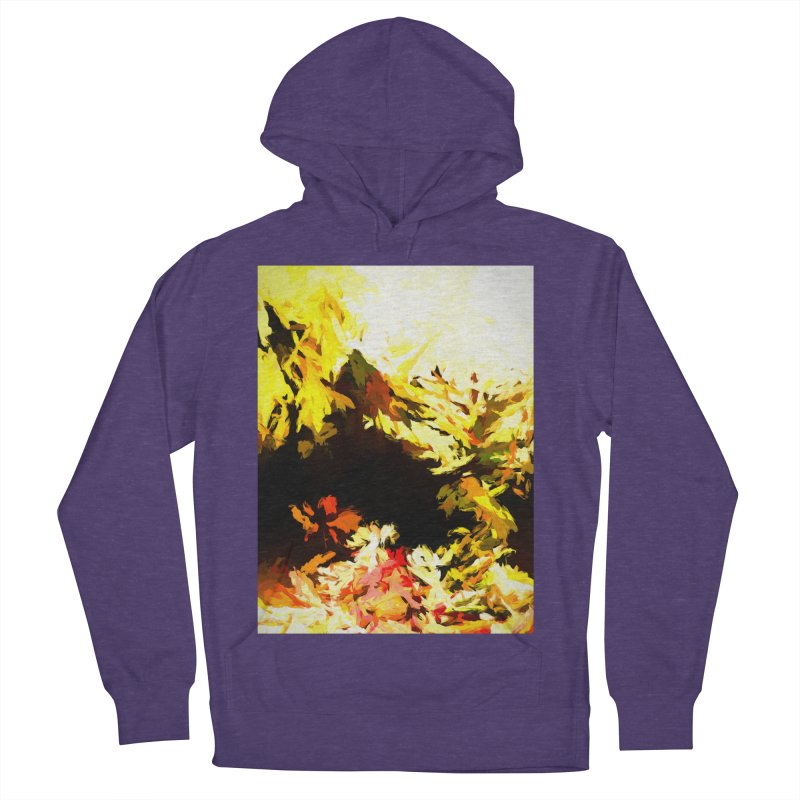 Weeping Woman by the Waterway Men's French Terry Pullover Hoody by jackievano's Artist Shop