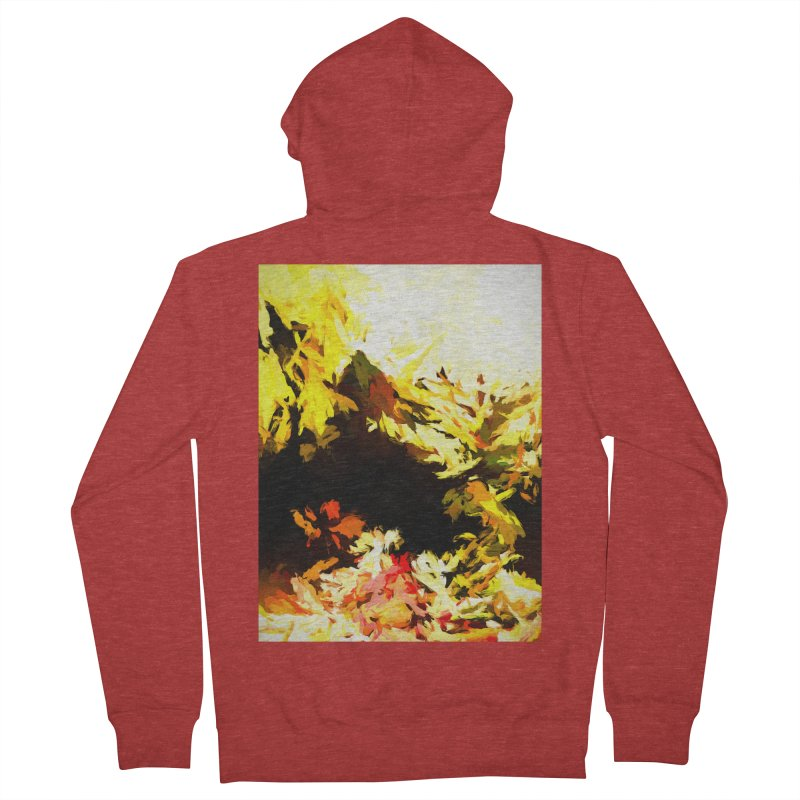 Weeping Woman by the Waterway Men's French Terry Zip-Up Hoody by jackievano's Artist Shop
