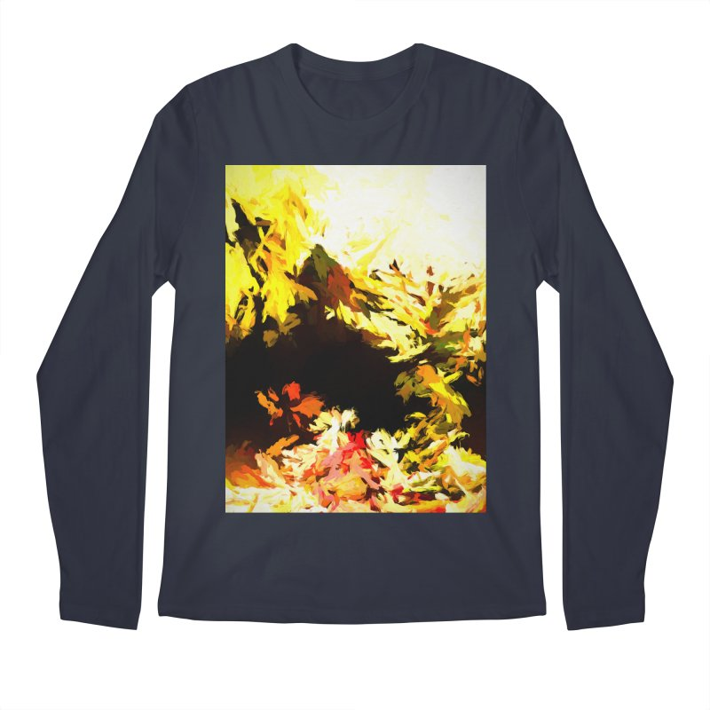 Weeping Woman by the Waterway Men's Regular Longsleeve T-Shirt by jackievano's Artist Shop