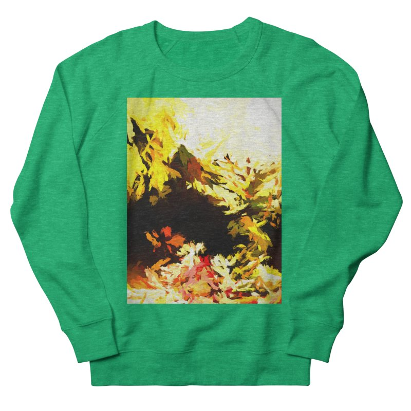 Weeping Woman by the Waterway Men's French Terry Sweatshirt by jackievano's Artist Shop