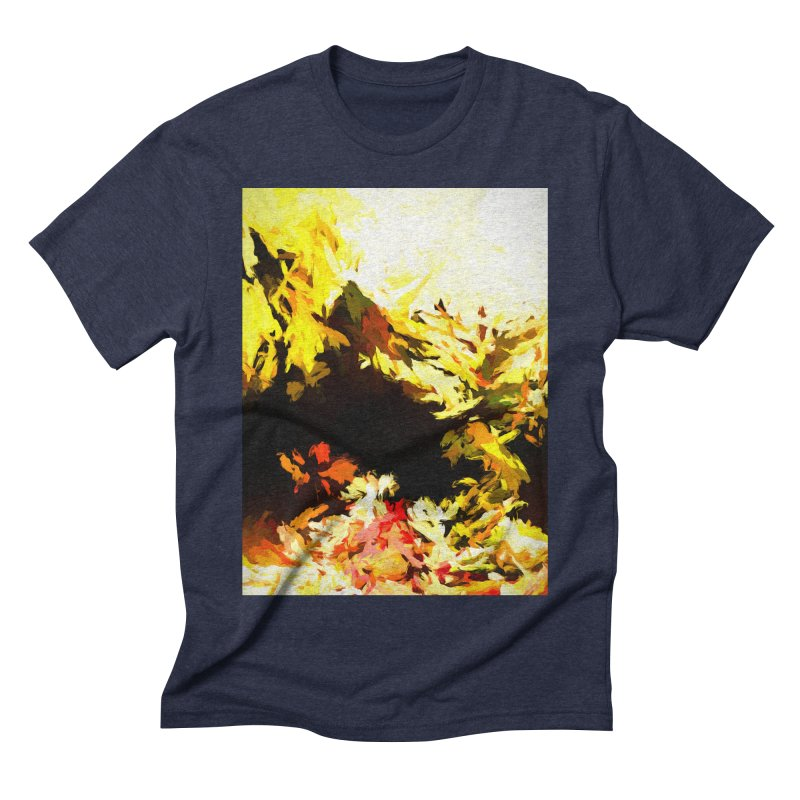 Weeping Woman by the Waterway Men's Triblend T-Shirt by jackievano's Artist Shop